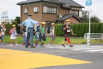 写真:夏の交通安全運動