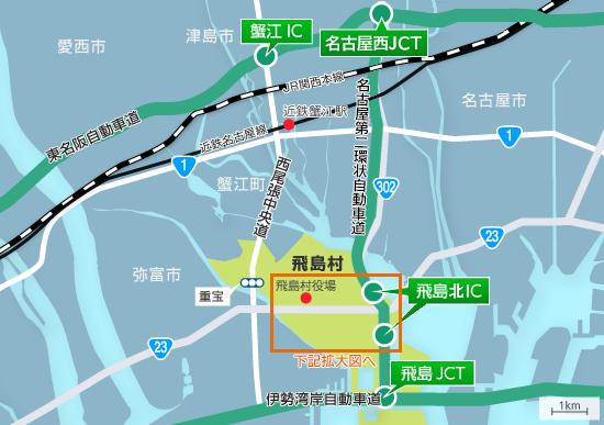 Um mapa de ilustração: Figura de área larga